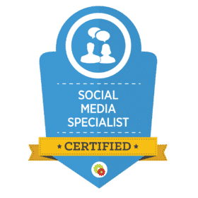 Social Media Management certification